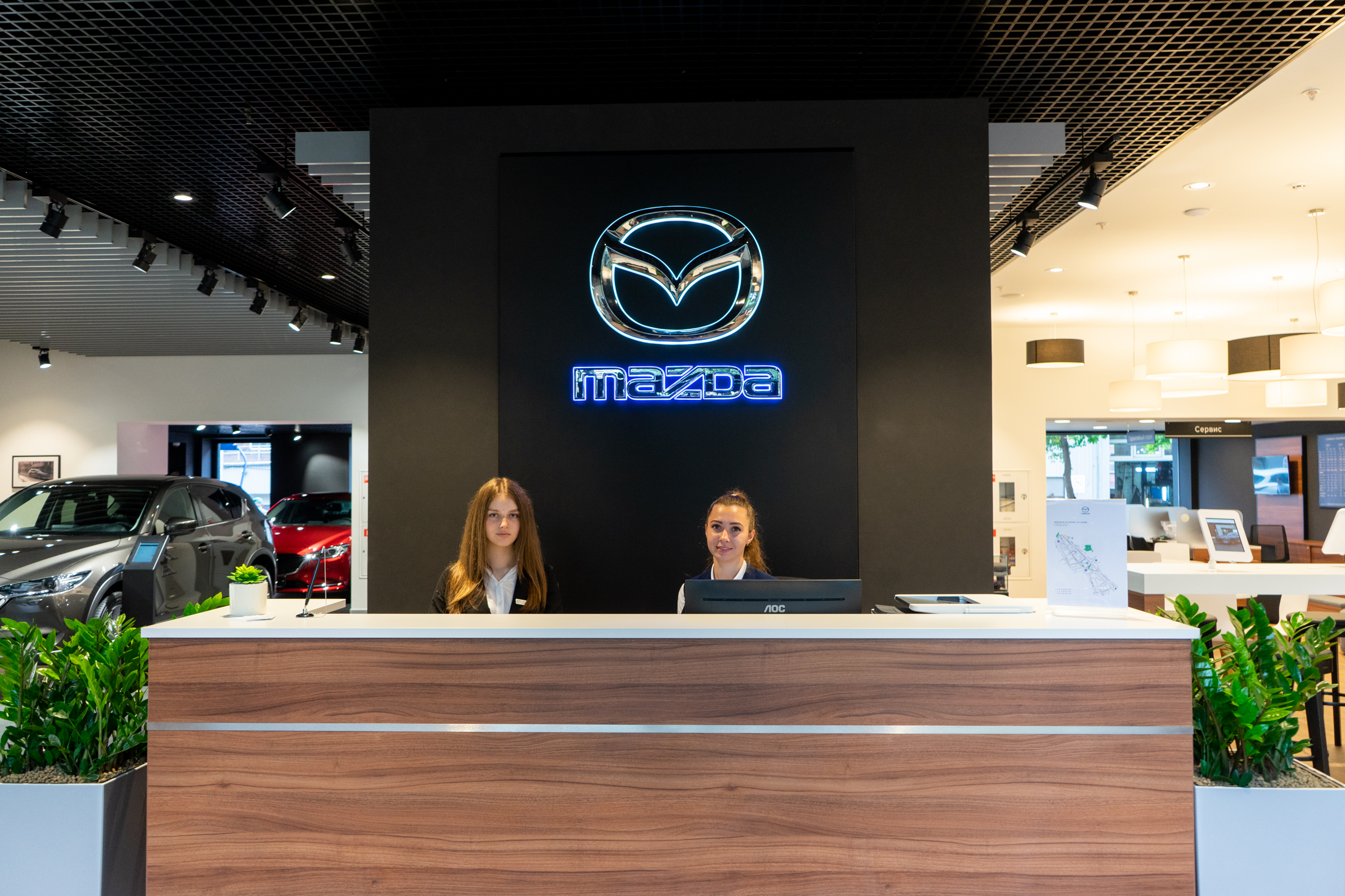 Автосалон Mazda в Москве